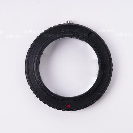 Leica-M-Sony E-mount 黑環 V4 彈片式 LM鏡頭轉NEX機身 A7全系列適用 無限遠可合焦