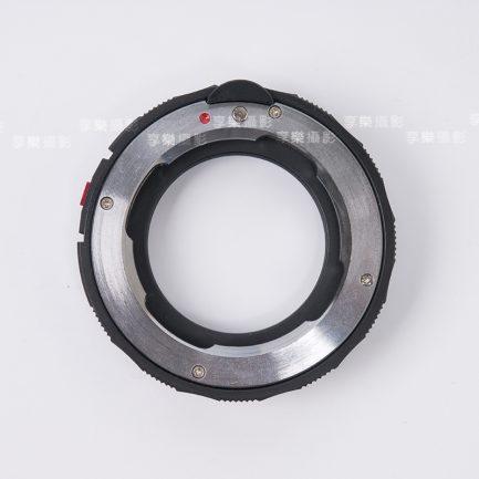 Leica-M - NEX/M 升級款有鏡頭鎖 對焦式黑環 微距功能 A7系列適用 LM鏡頭轉NEX機身