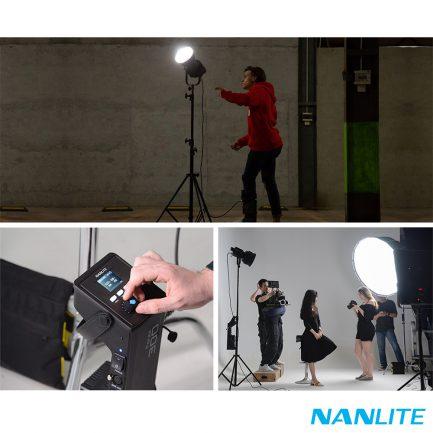 南冠Nanlite南光 Forza300 原力燈 LED 聚光燈 高亮度 300W 5600K白光 影視燈 補光燈 攝影燈 DMX 公司貨