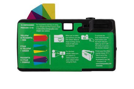 Lomography Simple Use 即開即用Purple紫調400度36張版本(可再裝) 最後一批36張 lomo底片