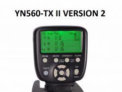 (客訂商品)永諾 YN560-TX II 2代 Canon/Nikon 無線觸發器 支援YN560-III YN560-IV