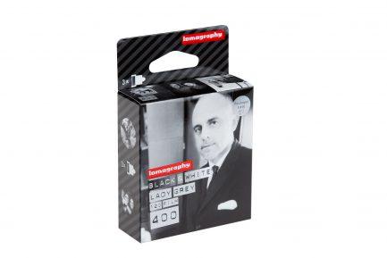 Lomography 120 B/W黑白 Lady Grey 400 《單捲價》 底片 黑白底片 (3卷盒裝$690)