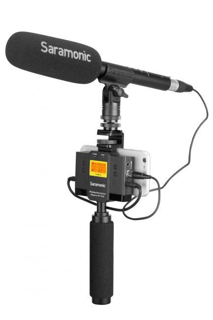 Saramonic UwMic9 Kit13 一對二 手機用無線麥克風混音套裝 (SP-RX9+TX9+TX9)