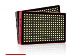 LituFoto 麗能 L28 LED燈 16W 可調色溫 小型補光燈 方便攜帶 黑色 可用行動電源/DC/NP-F電池供電