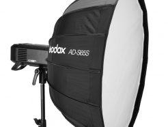 GODOX神牛AD400 PRO/AD300 PRO 專用 65cm 柔光罩 含蜂巢網格 金銀反射板