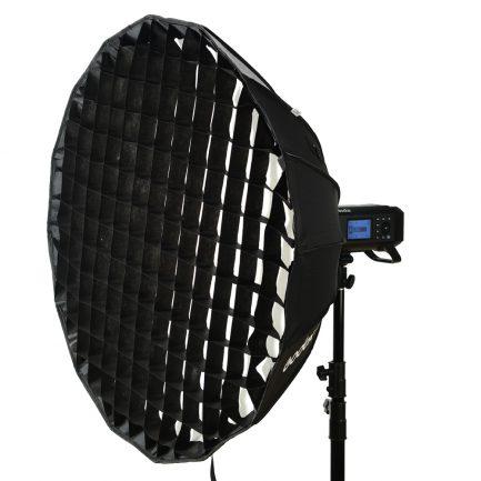 GODOX神牛 AD400 PRO/AD300 PRO 專用 85cm 柔光罩 含蜂巢網格 金銀反射板