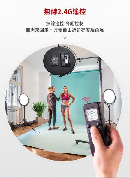 Cineluxr VColor 超柔面光持續燈 圓板燈 30cm/40cm/60cm LED燈 柔光板 導光燈不刺眼 人像美妝兒童攝影/直播錄影