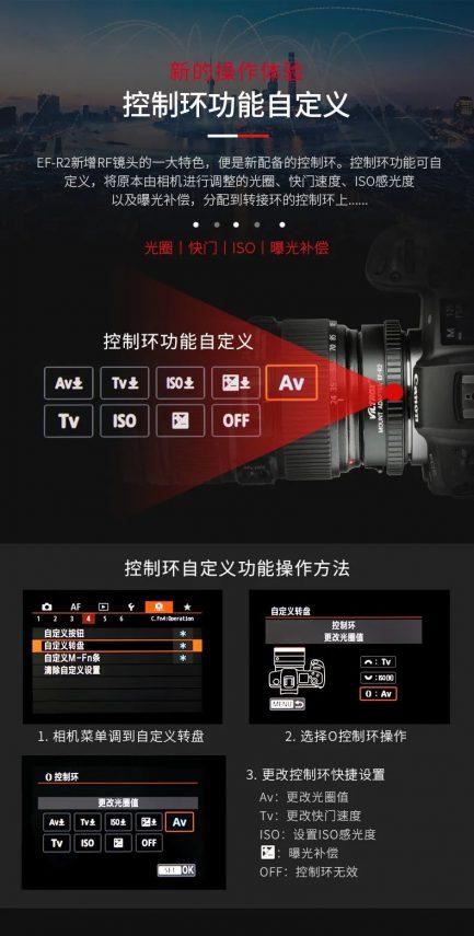 唯卓 Viltrox Canon EF-R2 EOS R RP自動對焦轉接環 平輸 含控制環 店保一年 EF-S/EF