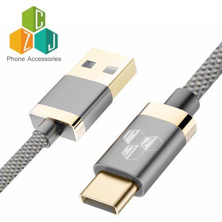 CZJ 高速金牛仔手機連接線 蘋果iPhone lightning/ 安卓Type-C USB-C 可傳輸 黑/紅/灰/藍 (不挑色)