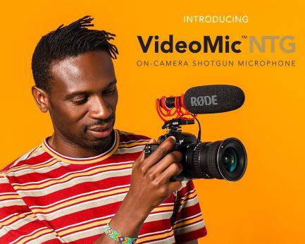 羅德 Rode VideoMic NTG 指向型電容專業麥克風 手機/相機皆適用 錄音 錄影 拍片 vlog