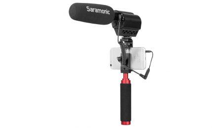 Saramonic SR-UC201 3.5TRS母-3.5TRRS公 麥克風轉接線