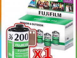 富士 Fujifilm 200 彩色負片 135 (日期2021.12)
