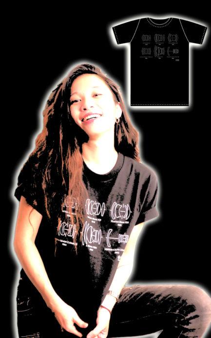 享樂獨家 美國棉 重磅 double gauss lens history vintage T-shirt 雙高斯 復古 鏡頭結構 黑色 創意短T