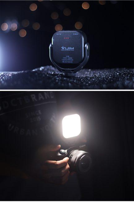 ulanzi VIJIM VL66雙色溫LED口袋補光燈 5W 2000mAh 360度旋轉補光 公司貨
