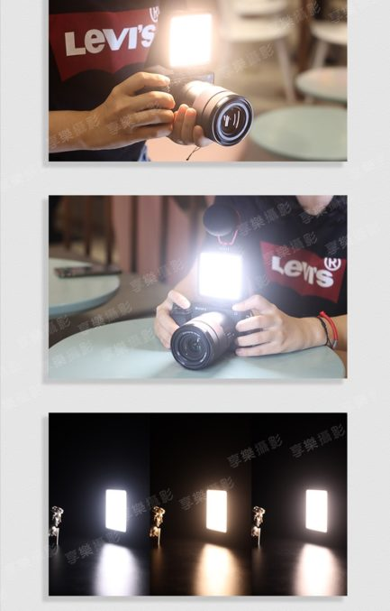 ULANZI VIJIM VL81熱靴雙色温LED柔光板Vlog拍片補光燈 高續航電力 可多燈拼接 公司貨