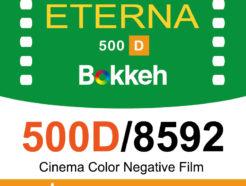[低感度特價]Bokkeh 富士Fuji 500D 8592 電影底片 Eterna Daylight日光片 彩色電影負片 限量35mm
