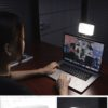 ulanzi VIJIM VL120 口袋LED燈+吸盤套件 雙色溫+6色片 迷你補光燈/持續燈 Vlog補光套件