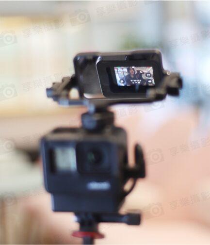 Ulanzi PT-14 錄影直播/自拍確認畫面必備!通用相機手機翻轉自拍鏡/擴充雙冷靴 可折疊收納