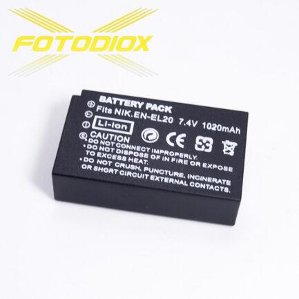 FOTODIOX 日本電芯鋰電池 Nikon EN-EL20