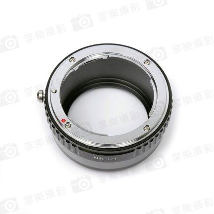Nikon F AI AF AI-S 鏡頭-萊卡Leica L LUMIX S LS轉接環 L-mount Panasonic全片幅相機 S1R S1 SL2 CL TL2