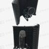 AQA S-3 麥克風折疊式隔音屏-三片 防風屏 降噪 吸音海綿/隔音海棉/直播K歌演奏錄音棚必備!