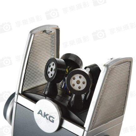 AKG Lyra天琴座 高清多模式 USB指向型麥克風 Type-C/電腦/安卓iOS手機平板/直播採訪錄音