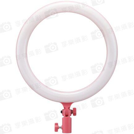 Godox神牛 12吋可調色溫環形燈LR120P (變壓器供電版)粉色 雙色溫 補光燈美光燈 直播錄影/美妝自拍