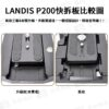 全金屬 LANDIS 快拆板 通用Manfrotto 501PL 快裝板 相機腳架 滑軌 通用雲台