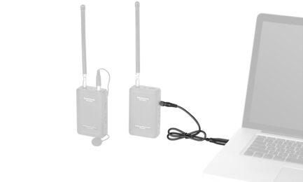 Saramonic USB-CP30 音源連接線 3.5mm TRS帶鎖連接頭 適用LavMic,UwMic9,UwMic10 UwMic15