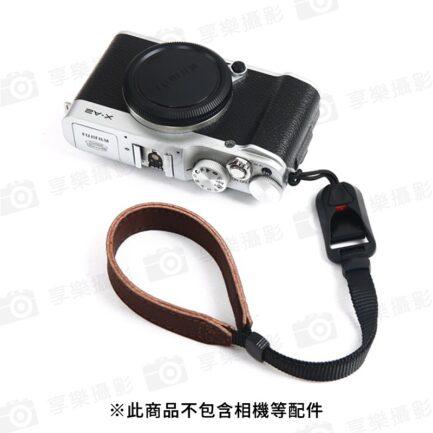 FotoFlex D-80S快拆-真皮手腕繩 快拆扣手腕帶 相機吊繩 防丟繩 相機繩 掛繩
