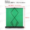 易拉式快收攜帶背景綠幕 三種尺寸(高205cm*寬150/170/180cm)直播去背綠幕 摳圖神器 綠棚