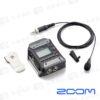 Zoom F1-LP 雙軌錄音機+LMF-1全指向領夾麥克風 收音 立體聲《海國公司貨》
