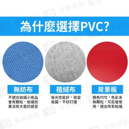 PVC磨砂防水背景版 尺寸100x200cm 白色/黑色/灰色/綠色 攝影產品拍照摳圖