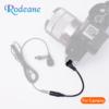 Rodeane CIP5L 手機麥克風轉接相機轉換線 轉接線 TRS公 – TRRS母 3節轉2節 採訪