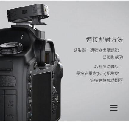 Saramonic Blink 500 Pro B2W 白色 (TX+TX+RX3.5mm) 2.4G 無線麥克風系統 1對2 自動配對|LED顯示|即時監聽 視訊會議直播錄影手機通話