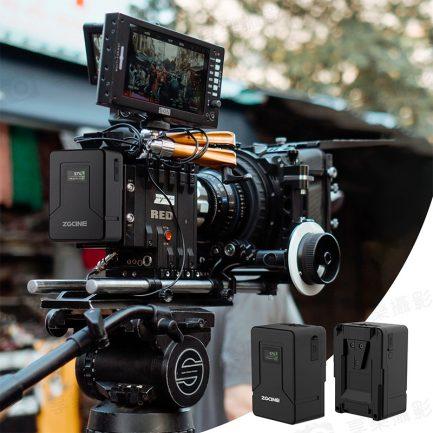 【ZGCine V99 口袋多功能V掛電池 V-Lock鋰電池6800mah 14.8V 99Wh 液晶顯示PD快充 攝影機/持續燈/棚燈電池