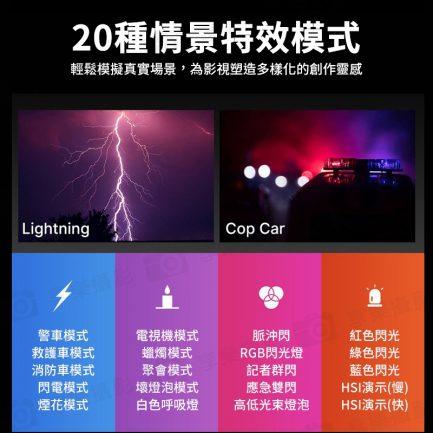 【Ulanzi VL61 RGB全彩補光燈】3冷靴 內建鋰電池 LED攝影燈 口袋燈 柔光燈 Vlog/直播/錄影 公司貨